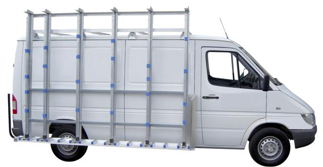 Sprinter Glass Van Rack
