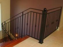Metalwork balustrade beautiful iron style balustrade hand made in Christchurch by Metalcraft Engineering