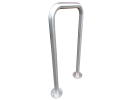 Staple cycle stand U shape bike rack Metalcraft Engineering Christchurch