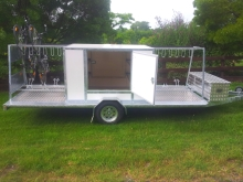 Metalcraft Engineering Custom design bike transport trailer