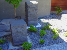 Metalcraft Engineering design and fabricated water feature commissioned in Christchurch