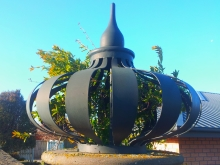 Metalcraft Engineering architectural feature onion wrought iron metalwork Christchurch