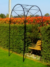 Garden arches rose frames iron feature