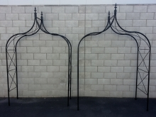 Peak top Arches Metalcraft Engineering Christchurch Garden features