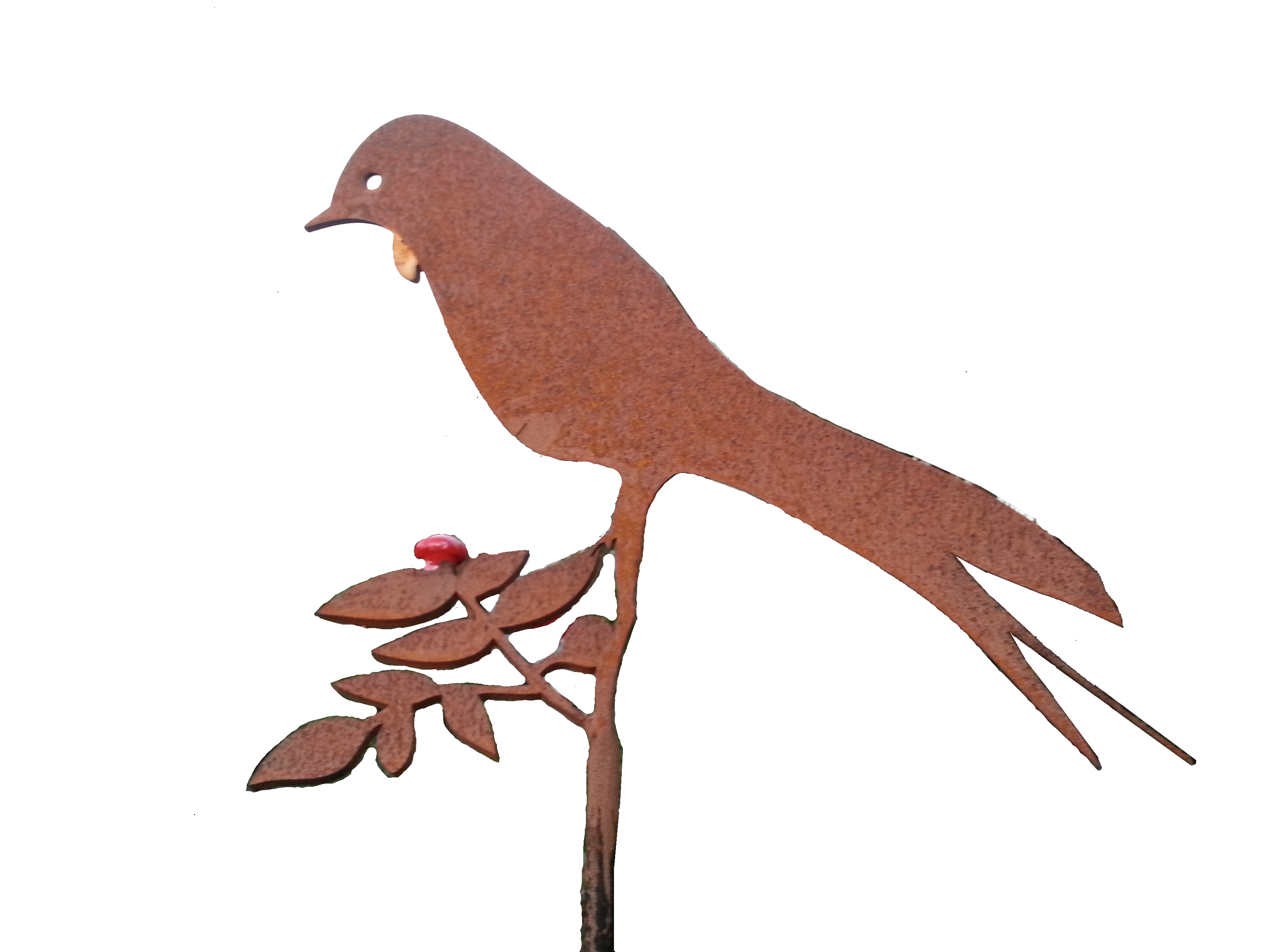 Metalcraft Engineering Garden Feature Art Tui Metalwork Raw steel rusty