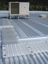 Air conditioning roof access aluminium walkways