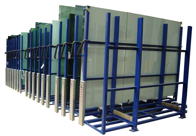Flat Glass Conertina Glass Storage