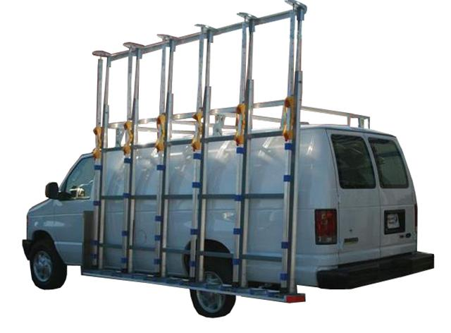 Ford LWB Glass Van Rack